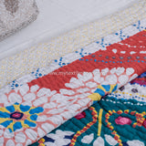40 Colors Handmade Cotton Double Bed Quilt