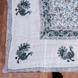 Grey Jaal Reversible Single Bed Quilt