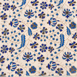 Blue Mandala King Size Cotton Double Bedsheet