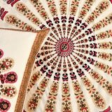Maroon Mandala King Size Cotton Double Bedsheet