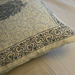 Block Print Blue Paisley Cushion Cover (Set of 5)