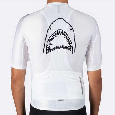 Mens Artist Series Jersey - The Great White (White)