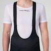 Mens Tech Base Layer - White Black, Short Sleeve
