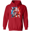 Darling In The Franxx Hoodie - Red - Worldwide Shipping - NINONINE