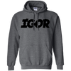 Igor Hoodie - Dark Heather - Shipping Worldwide - NINONINE