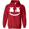 Marshmello Hoodie - Red - Shipping Worldwide - NINONINE