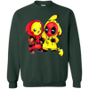 Pikachu Deadpool Sweater - Forest Green - Shipping Worldwide - NINONINE