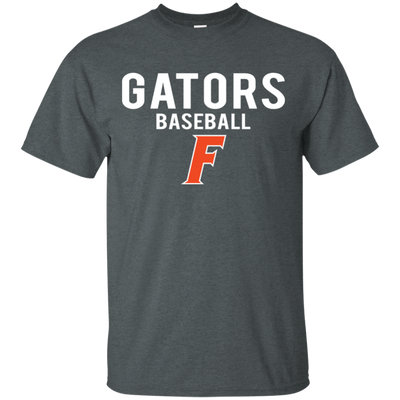 Florida Gator Baseball Shirt - Dark Heather - Shipping Worldwide - NINONINE
