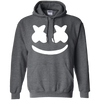 Marshmello Hoodie - Dark Heather - Shipping Worldwide - NINONINE