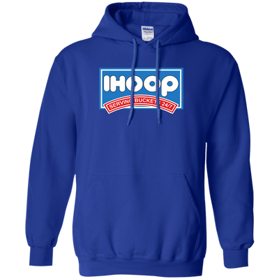 Ihoop Hoodie - Royal - Shipping Worldwide - NINONINE