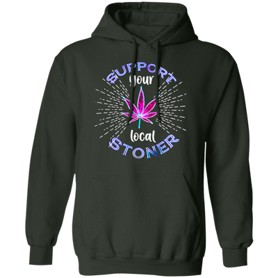 Stoner Hoodie - Forest Green