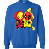 Pikachu Deadpool Sweater - Royal - Shipping Worldwide - NINONINE