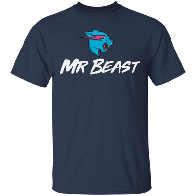 Mr Beast Shirt - Navy