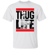 Thug Life 2pac Shirt - White - Worldwide Shipping -  NINONINE