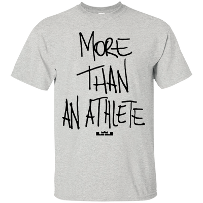 More Than An Athlete Shirt Light - Ash - Shipping Worldwide - NINONINE