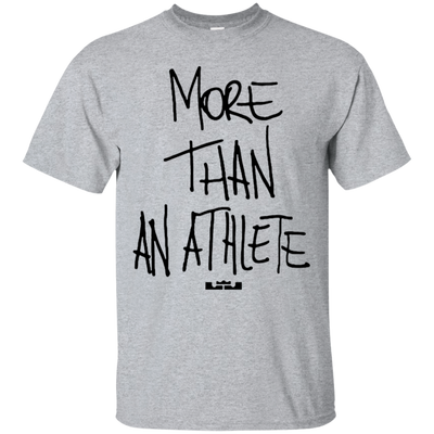 More Than An Athlete Shirt Light - Sport Grey - Shipping Worldwide - NINONINE