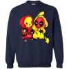 Pikachu Deadpool Sweater - Navy - Shipping Worldwide - NINONINE