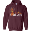 Travis Scott Jordan Hoodie - Maroon - Shipping Worldwide - NINONINE