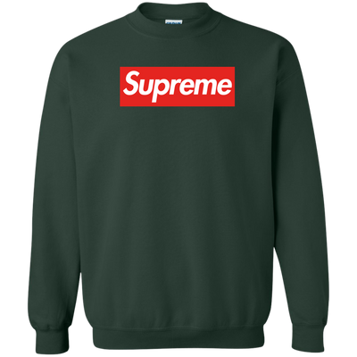 Supreme Sweater - Forest Green - Shipping Worldwide - NINONINE