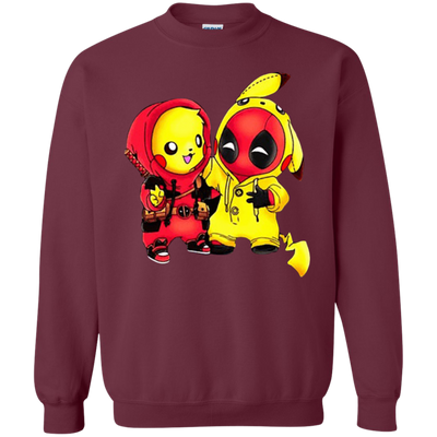 Pikachu Deadpool Sweater - Maroon - Shipping Worldwide - NINONINE