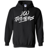 100 Thieves Hoodie - Black - Shipping Worldwide - NINONINE