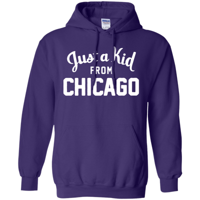 Just A Kid From Chicago Hoodie - NINONINE