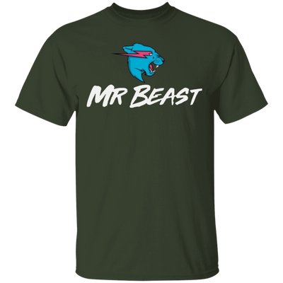 Mr Beast Shirt - Forest