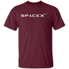 Spacex T Shirt - Maroon