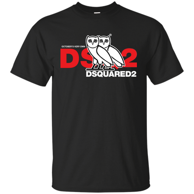 Dsquared2 Ovo Shirt Black - NINONINE