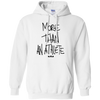 More Than An Athlete Hoodie Light - NINONINE