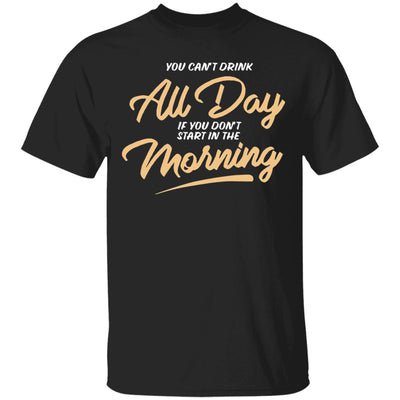 Can T Drink All Day Barstool Shirt
