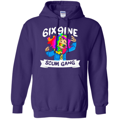 6ix9ine Hoodie - Purple - Shipping Worldwide - NINONINE