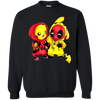 Pikachu Deadpool Sweater - Black - Shipping Worldwide - NINONINE
