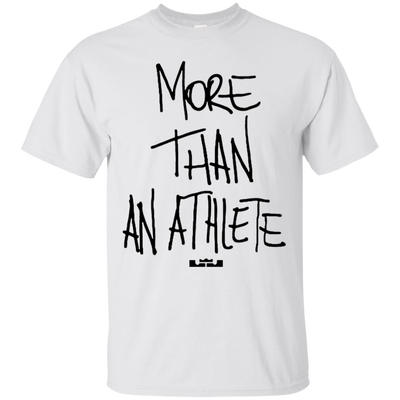 More Than An Athlete Shirt Light - White - Shipping Worldwide - NINONINE