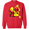 Pikachu Deadpool Sweater - Red - Shipping Worldwide - NINONINE
