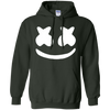 Marshmello Hoodie - Forest Green - Shipping Worldwide - NINONINE