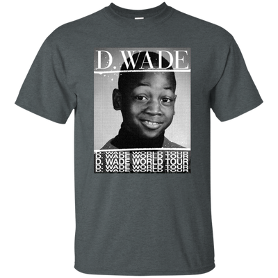Dwyane Wade World Tour Shirt - Dark Heather - Shipping Worldwide - NINONINE