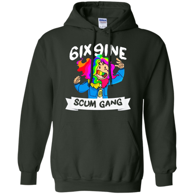 6ix9ine Hoodie - Forest Green - Shipping Worldwide - NINONINE