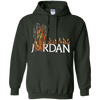 Travis Scott Jordan Hoodie - Forest Green - Shipping Worldwide - NINONINE