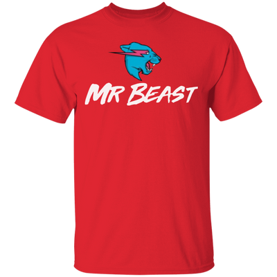 Mr Beast Shirt - Red