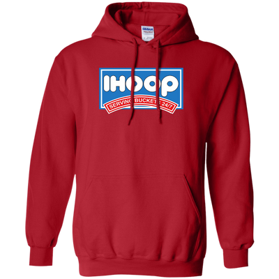 Ihoop Hoodie - Red - Shipping Worldwide - NINONINE