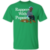 Rappers With Puppies Shirt - Irish Green