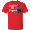 Rappers With Puppies Shirt - Red