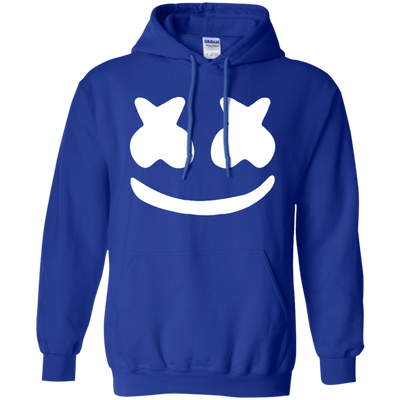 Marshmello Hoodie - Royal - Shipping Worldwide - NINONINE