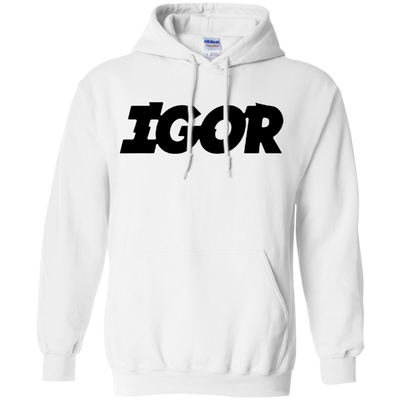 Igor Hoodie - White - Shipping Worldwide - NINONINE