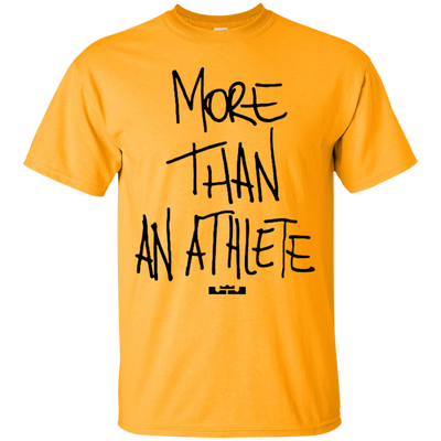 More Than An Athlete Shirt Light - Gold - Shipping Worldwide - NINONINE