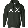 Kaws Hoodie - Forest Green - Shipping Worldwide - NINONINE