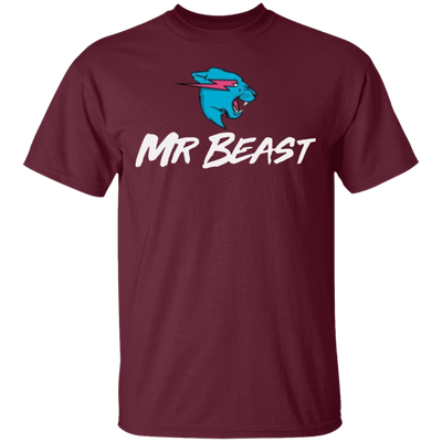 Mr Beast Shirt - Maroon