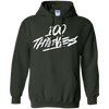 100 Thieves Hoodie - Forest Green - Shipping Worldwide - NINONINE