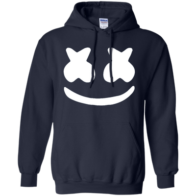Marshmello Hoodie - Navy - Shipping Worldwide - NINONINE